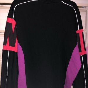 PINK Victoria's Secret Tops - Victoria's Secret pink quarter zip sweater!!!